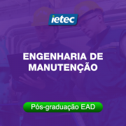Pós-graduação EAD - Engenharia de Manutenção EAD