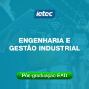 Pós-graduação EAD - Engenharia e Gestão Industrial EAD