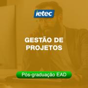 Pós-graduação EAD - Gestão de Projetos