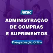 Pós-graduação Online - Administração de Compras e Suprimentos