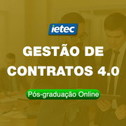 Pós-graduação Online - Gestão de Contratos 4.0