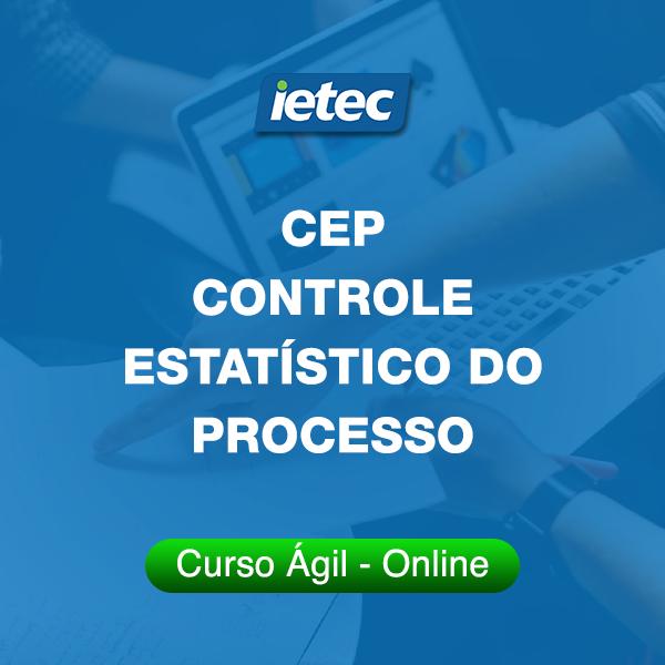 Curso Ágil - CEP  Controle Estatístico do Processo  - Loja IETEC
