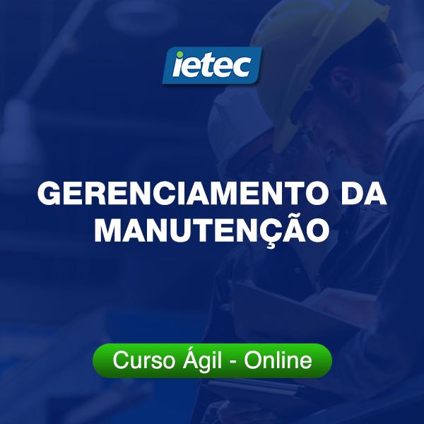 Curso Ágil - Gerenciamento da Manutenção  - Loja IETEC