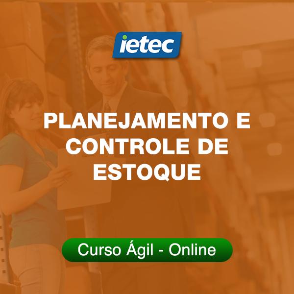 Curso Ágil - Planejamento e Controle de Estoque  - Loja IETEC