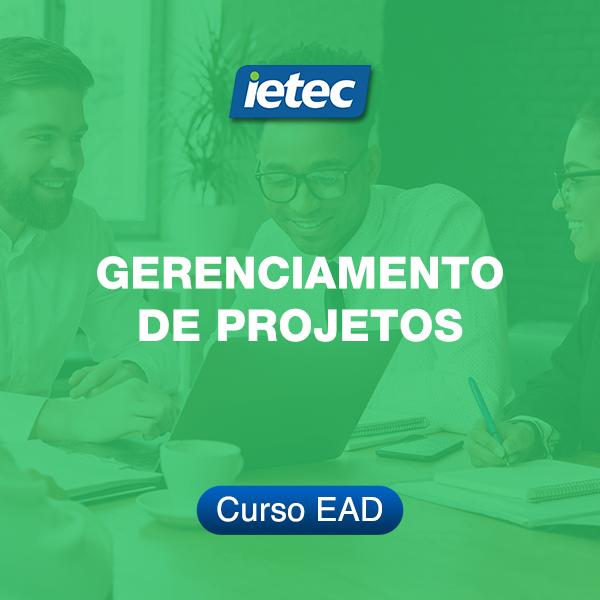Curso EAD - Gerenciamento de Projetos  - Loja IETEC