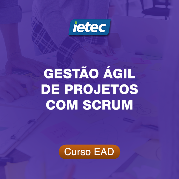 Curso EAD - Gestão Ágil de Projetos com SCRUM  - Loja IETEC