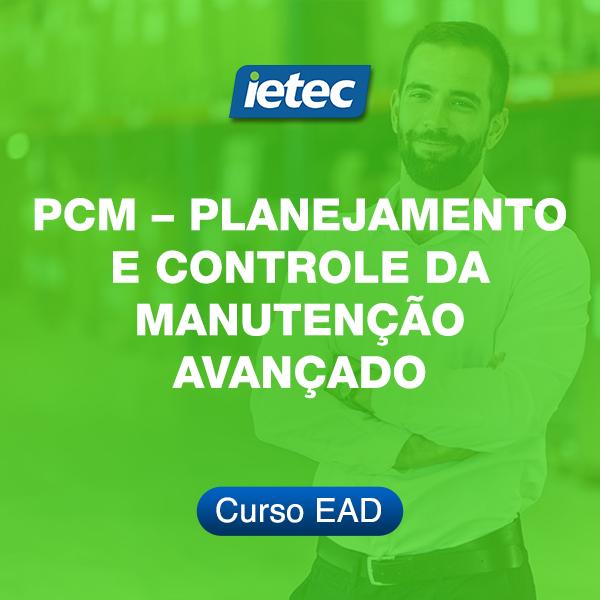 Curso EAD - Planejamento e Controle da Manutenção - Avançado  - Loja IETEC