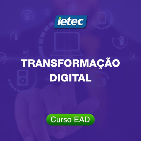 Curso EAD - Transformação Digital  - Loja IETEC