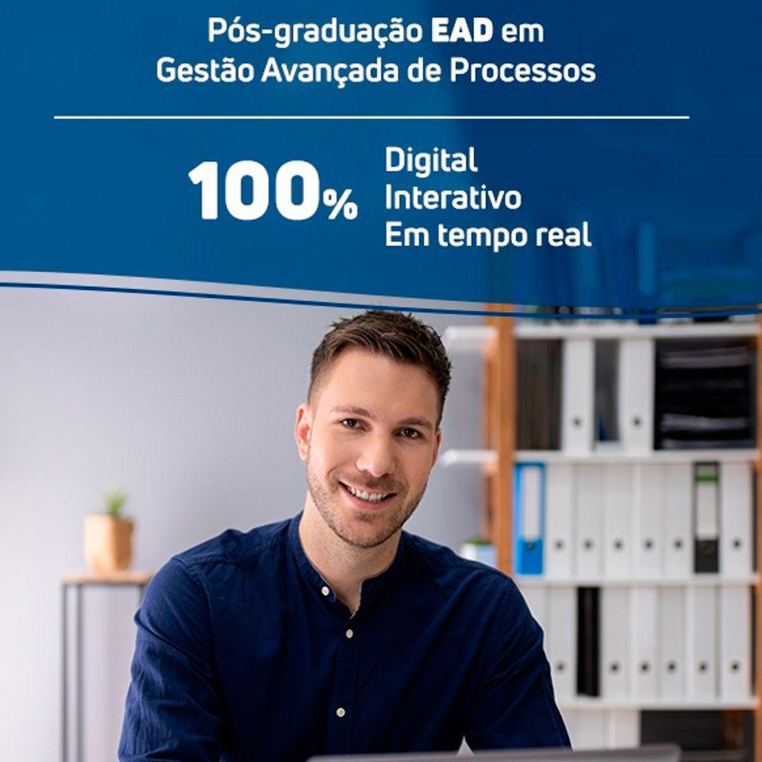 Pós-graduação em Gestão Avançada de Processos EAD  - Loja IETEC