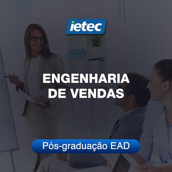 Pós-graduação EAD - Engenharia de Vendas EAD  - Loja IETEC