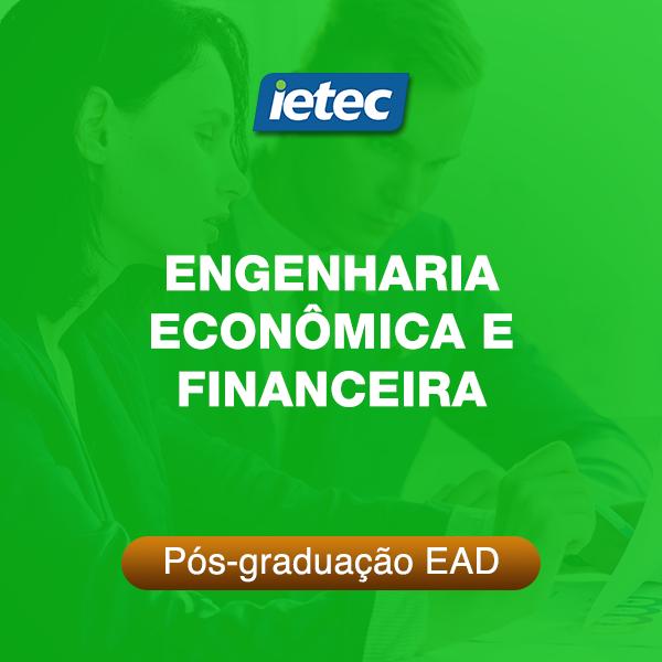 Pós-graduação EAD - Engenharia Econômica e Financeira EAD  - Loja IETEC