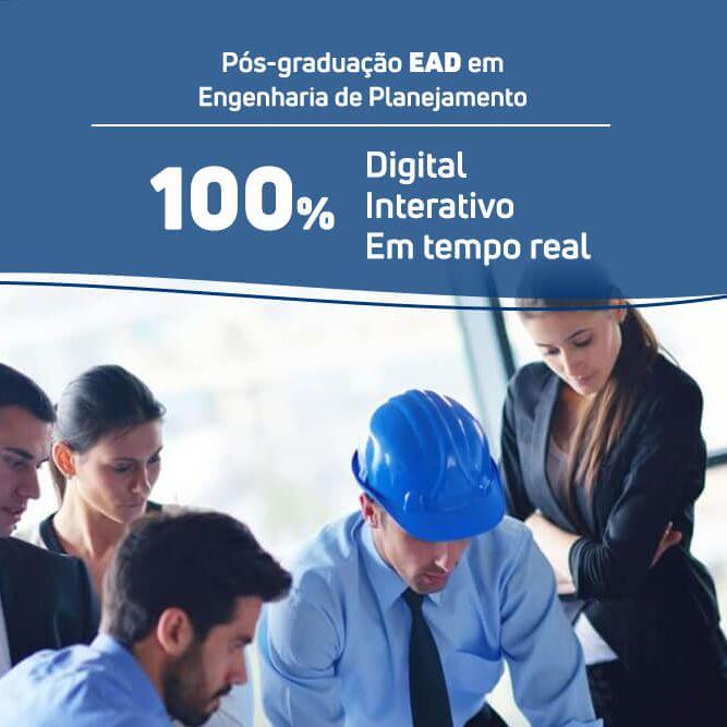 Pós-graduação em Engenharia de Planejamento EAD  - Loja IETEC
