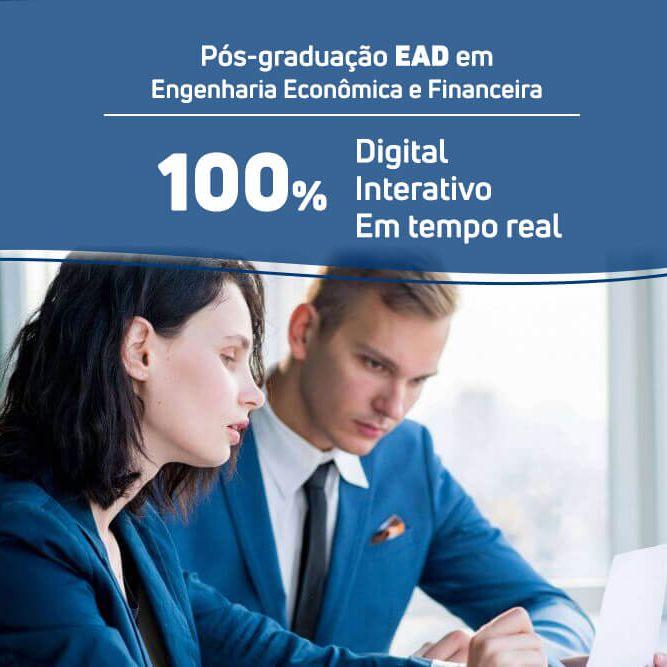 Pós-graduação em Engenharia Econômica e Financeira EAD  - Loja IETEC