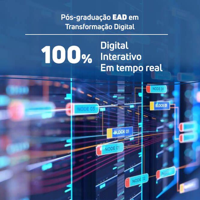 Pós-graduação em Transformação Digital EAD  - Loja IETEC