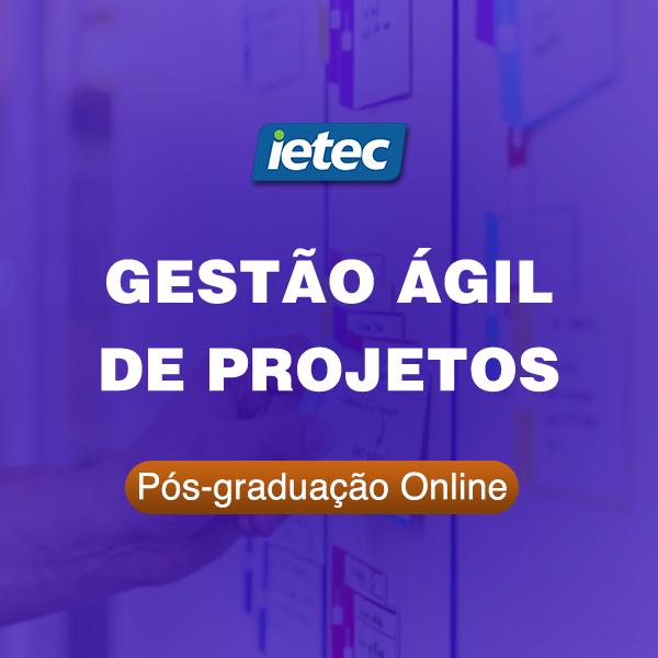 Pós-graduação Online - Gestão Ágil de Projetos  - Loja IETEC