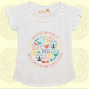 Camiseta Mandala do Yoga Colorida