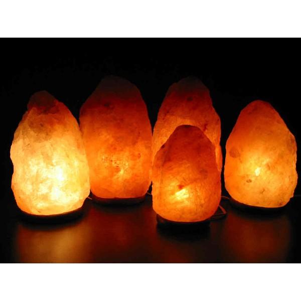 Luminária de Sal dos Himalayas