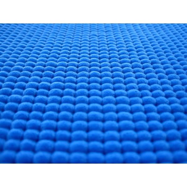 Tapete de Yoga - PVC Azul Royal 5mm *Frete Grátis*