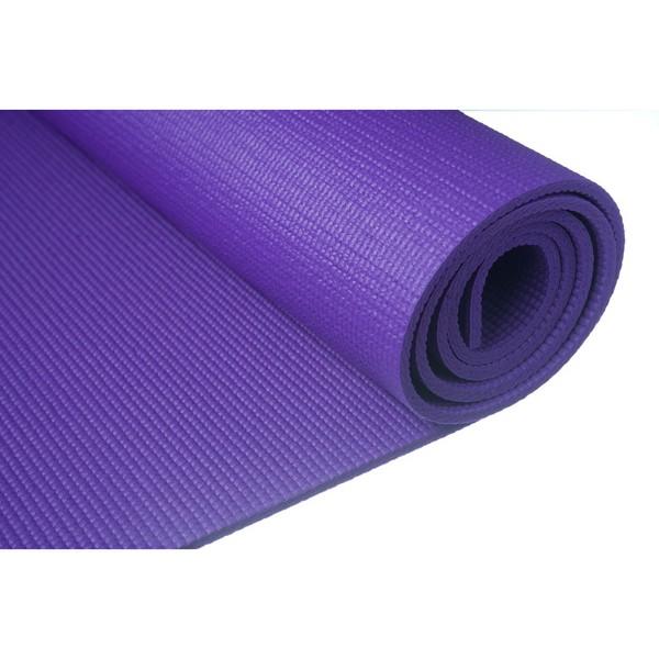 Tapete De Yoga Pvc Roxo Mm Frete Gratis Amadomat
