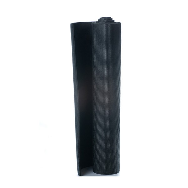 Tapete de Yoga - PVC Preto 5mm *Frete Grátis Para Todo o Brasil*