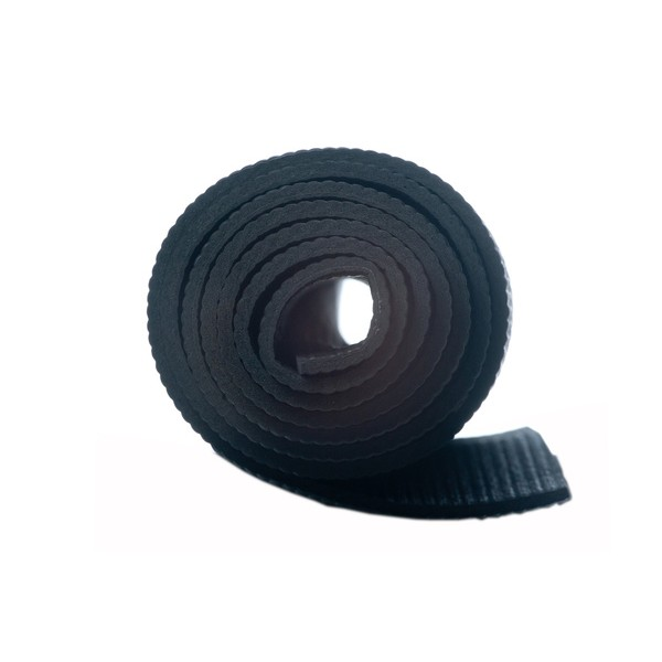 Tapete de Yoga - PVC Preto 5mm *Frete Grátis Para Capitais*