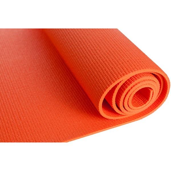 Tapete de Yoga - PVC Laranja 5mm *Frete Grátis*