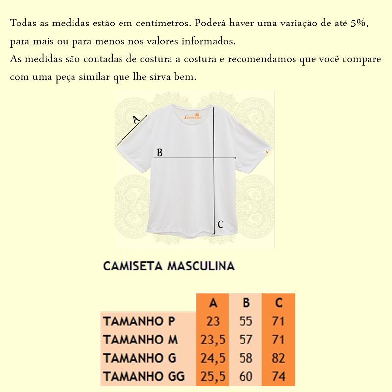 Camisa Masculina OM na Mandala
