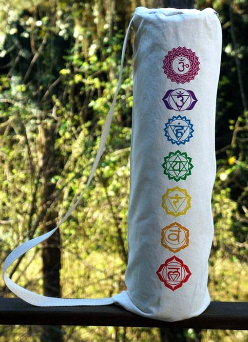 Porta Tapete de Yoga - 7 Chakras