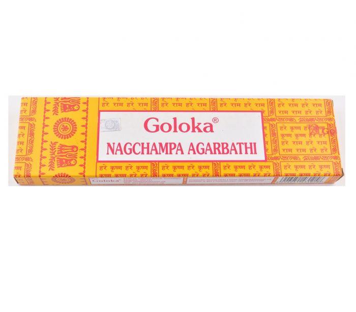 Incenso Indiano Goloka - Nagchampa Agarbathi