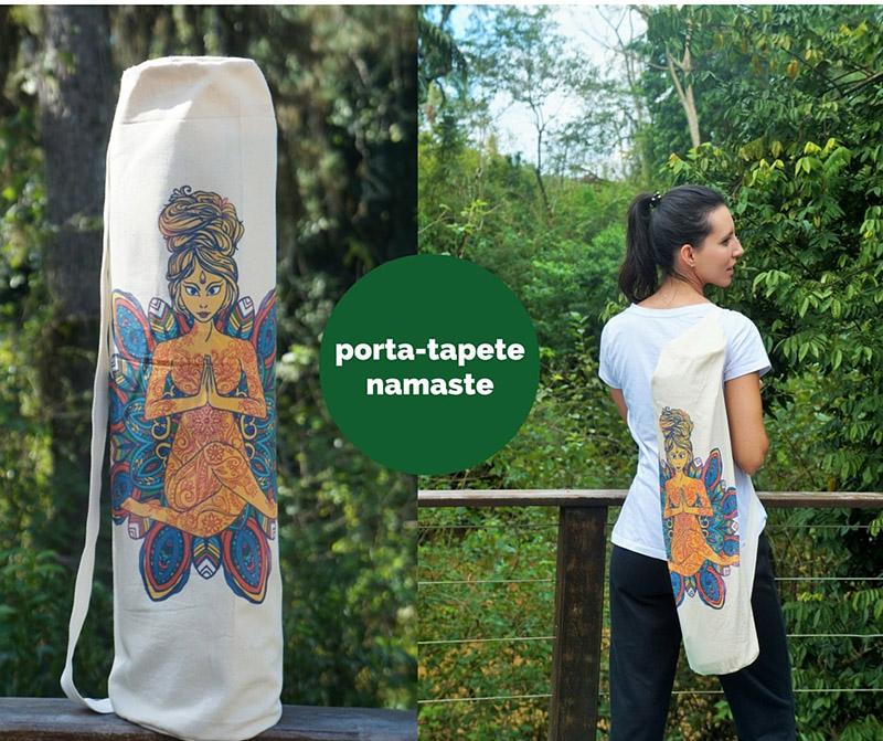 Porta Tapete de Yoga - Namastê