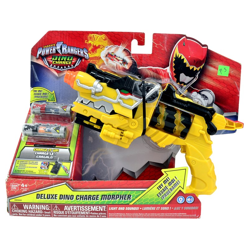Morfador de luxo Power Ranger Dino Charger - Sunny/Bandai  - Doce Diversão