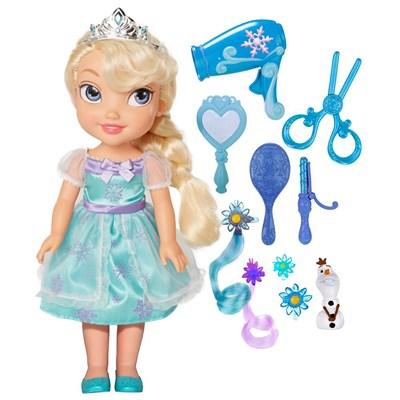Boneca Disney Frozen Elsa com Kit de beleza - Sunny  - Doce Diversão