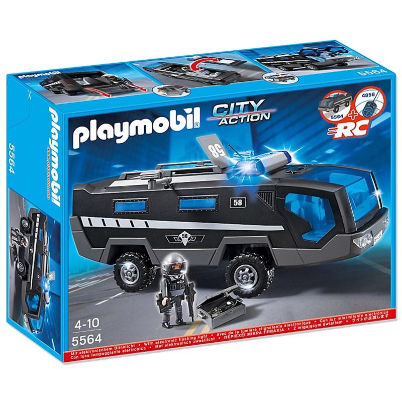 Playmobil Veiculo de Comando Unidade Tatica da Policia - Sunny  - Doce Diversão