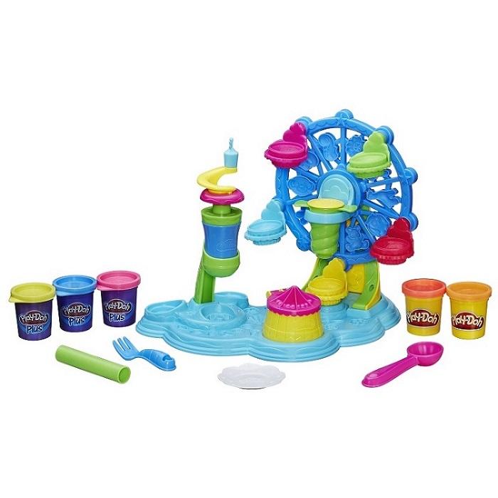 Massa Play Doh Roda Gigante Cupcake - Hasbro  - Doce Diversão
