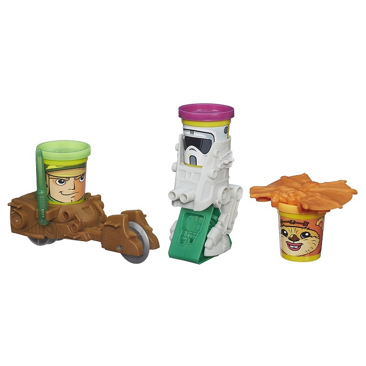 Play Doh Star Wars – Mission on Endor - Hasbro  - Doce Diversão