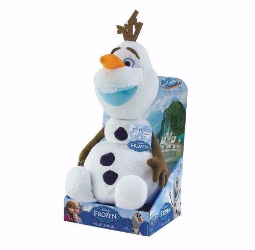 Pelucia Frozen Disney Olaf Animei – Ganha vida ao falar- DTC  - Doce Diversão