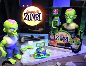 Jogo Ataque de Zumbi - Estrela  - Doce Diversão