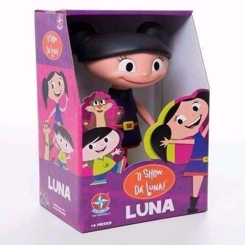 Bonecos Show da Luna – Luna, Claudio e Jupiter - Estrela  - Doce Diversão