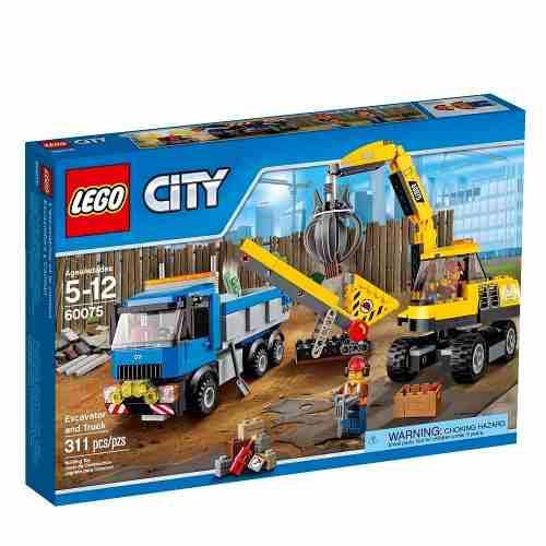 Lego 60075 – City Demolição - Escavadora e Caminhão  - Doce Diversão