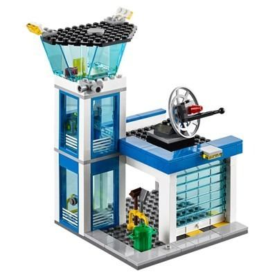 Lego 60047 - Lego City Police - Distrito Policial 854 Peças  - Doce Diversão