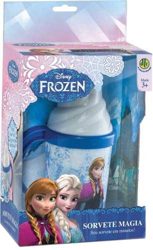 Sorvete Magia Frozen Disney – Faz de verdade -Dtc  - Doce Diversão