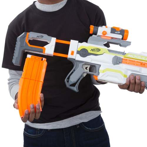Lançador Nerf N Strike Modulus ECS - 10  - Hasbro  - Doce Diversão