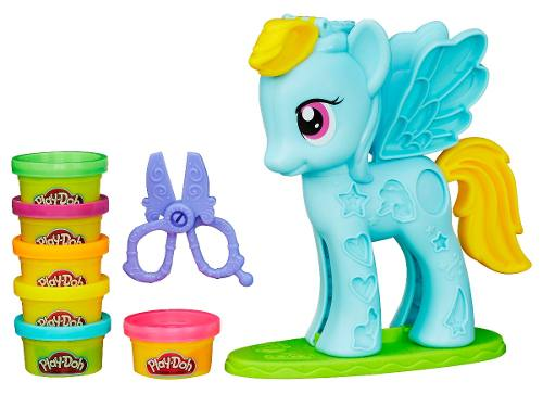 Massinha Play Doh Little Pony Rainbow Dash - Hasbro  - Doce Diversão