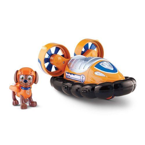Patrulha Canina - Veiculo + Figura Zuma Hovercraft- Sunny  - Doce Diversão