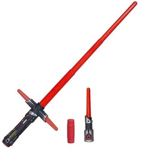 Star Wars Sabre de Luz Eletronico -Kylo Ren - Hasbro  - Doce Diversão