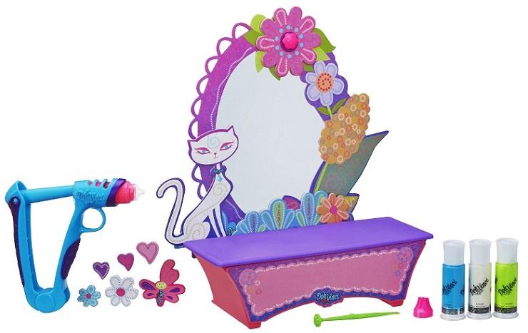 Play Doh Vinci Kit Estilo e Beleza + Penteadeira c/ espelho e gaveta - Hasbro  - Doce Diversão