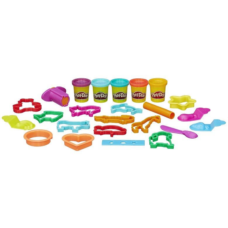 Potão Play Doh Balde de Atividades – 5 potes e ferramentas - Hasbro  - Doce Diversão