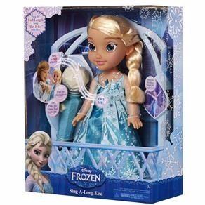 Boneca  Frozen  Cante com Elsa Karaokê  - Sunny  - Doce Diversão