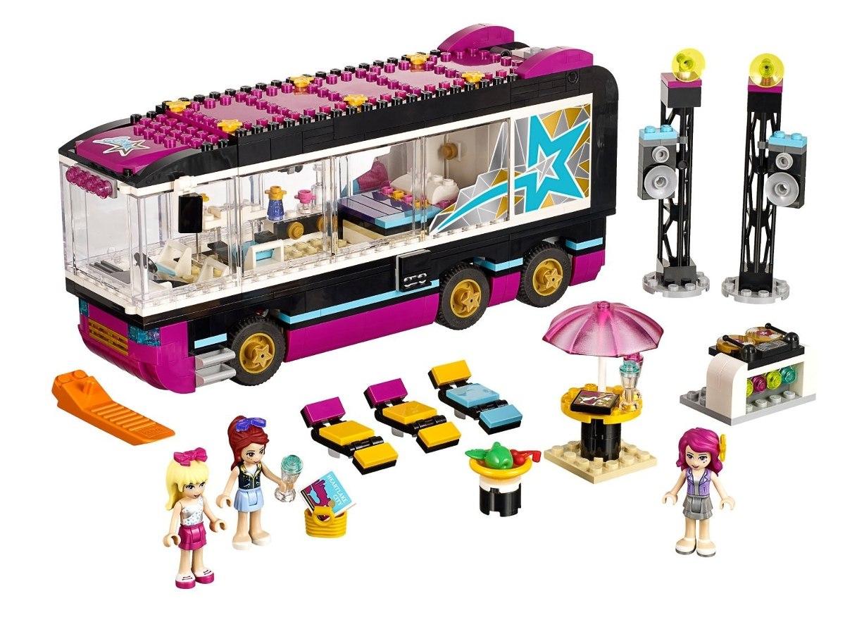 Lego 41106 - Friends - O Onibus De Turne Da Pop Star  - Doce Diversão