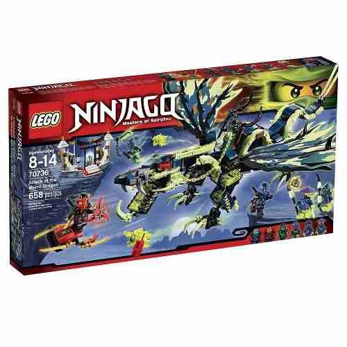 Lego 70736 - Ninjago - Ataque do Dragão Moro  - Doce Diversão